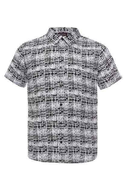 Рубашка для мальчика Finn Flare, цв. черный, р-р. 134