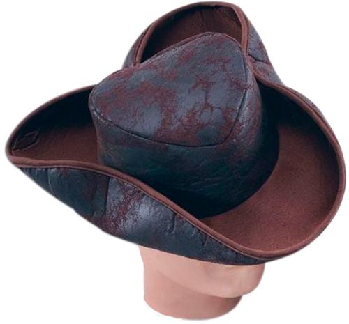Шляпа Bristol Бывалого пирата Коричневый, размер: 56 ПБ863