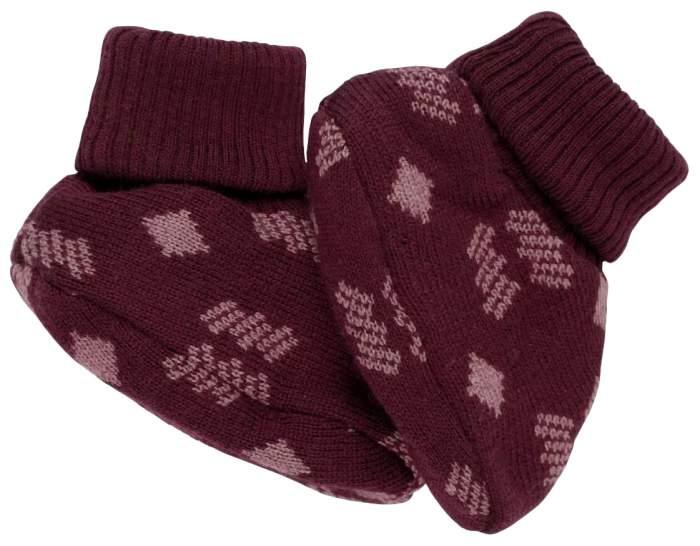 Пинетки Voksi Double Knit New Nordic Red 12-18 М, 11007216