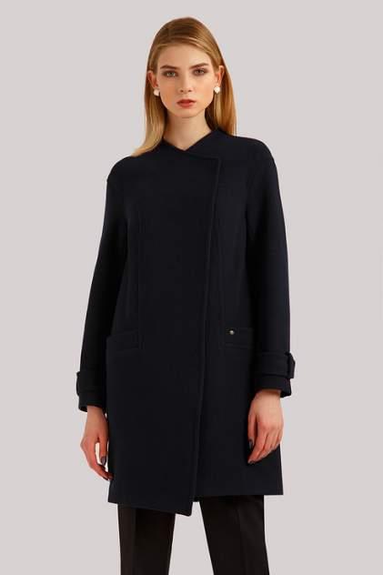 Пальто женское Finn Flare B19-11089 синее XL
