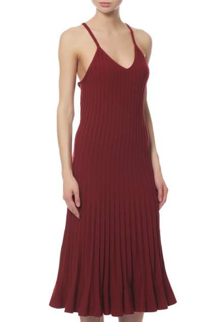 Платье женское MRZ FW170069U0409CUIR красное XS