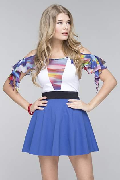 Блуза женская Gloss 13106(05) белая 42 RU