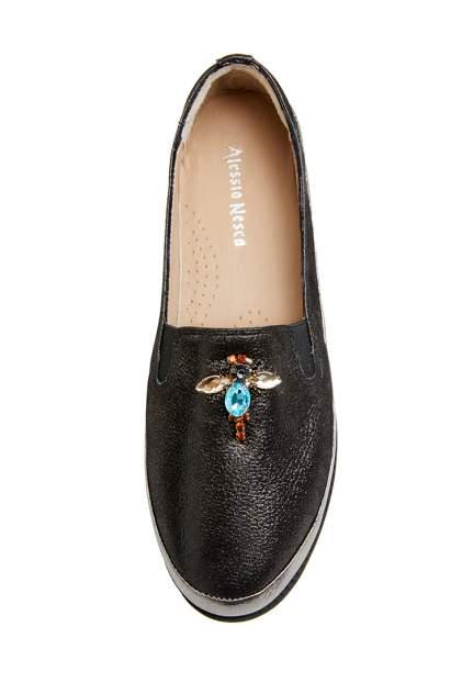Туфли женские Alessio Nesca 710018296 серебристые 39 RU