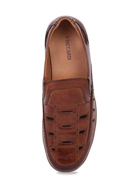 Сандалии мужские T.Taccardi 02806360 коричневые 45 RU