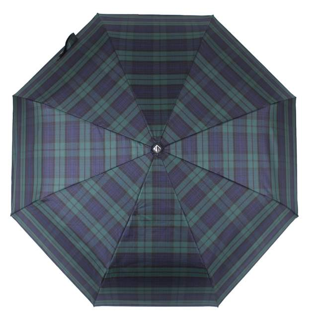 Зонт складной мужской автоматический Flioraj 00900302 FJ зеленый