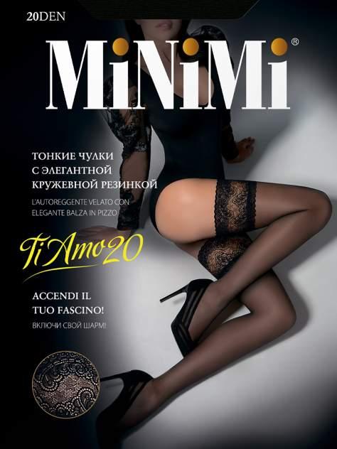 Чулки женские MiNiMi TI AMO синие S/M