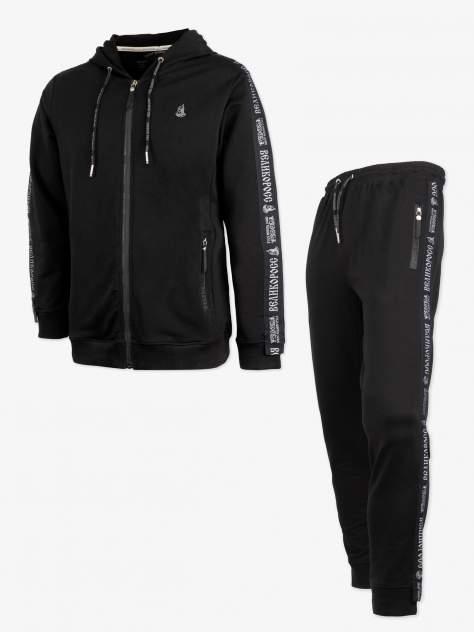 Спортивный костюм Великоросс K500, черный, 56 RU