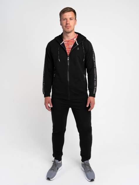 Спортивный костюм Великоросс K500, черный, 58 RU
