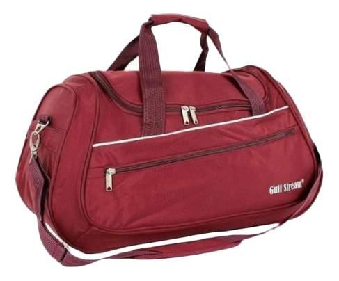Дорожная сумка Polar 5986 бордовая 55 x 24 x 35