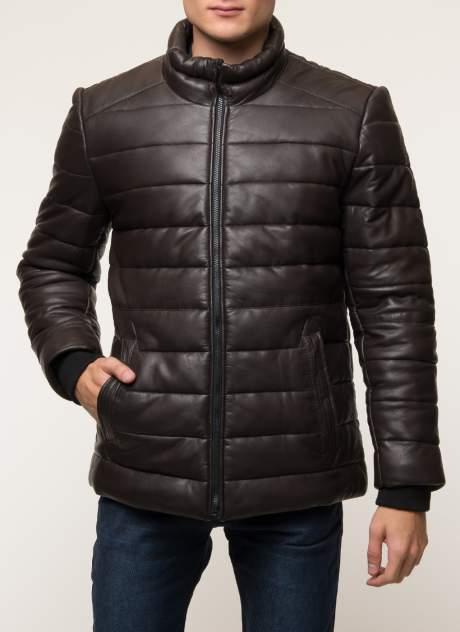 Кожаная куртка мужская Gotthold B2 коричневая 58 RU