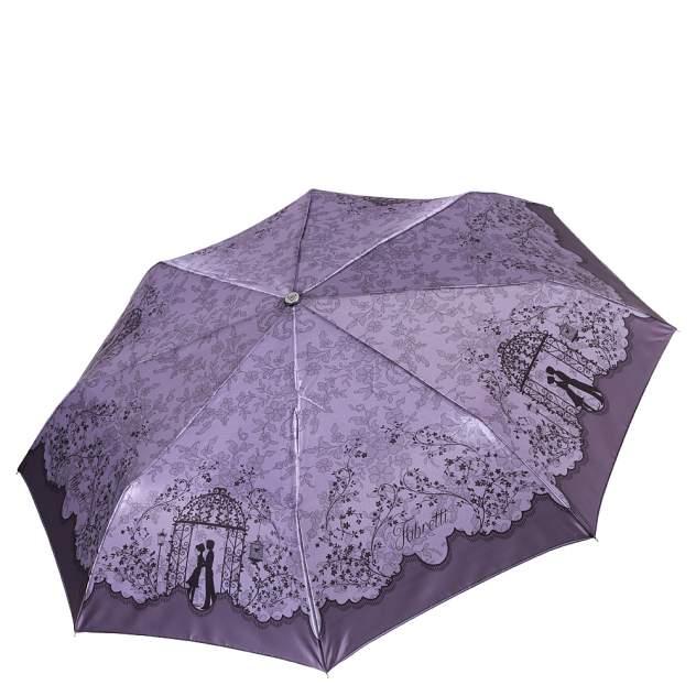 Зонт складной женский автоматический FABRETTI L-17122-7 фиолетовый