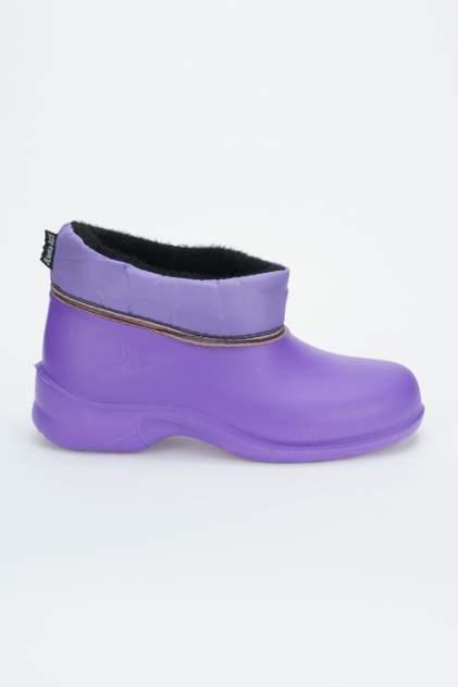 Резиновые сапоги женские Дюна 320Т фиолетовые 36 RU