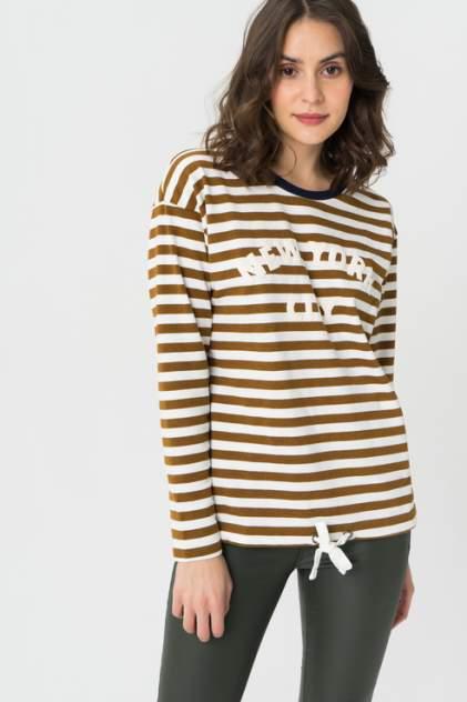 Лонгслив женский Blend She 20203808 коричневый XS
