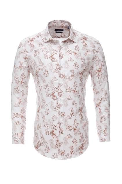 Рубашка мужская BAWER RZ2112078-08 коричневая 3XL