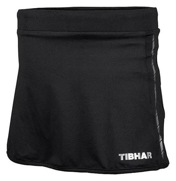 Спортивная юбка Tibhar Globe Lady, черная, XS