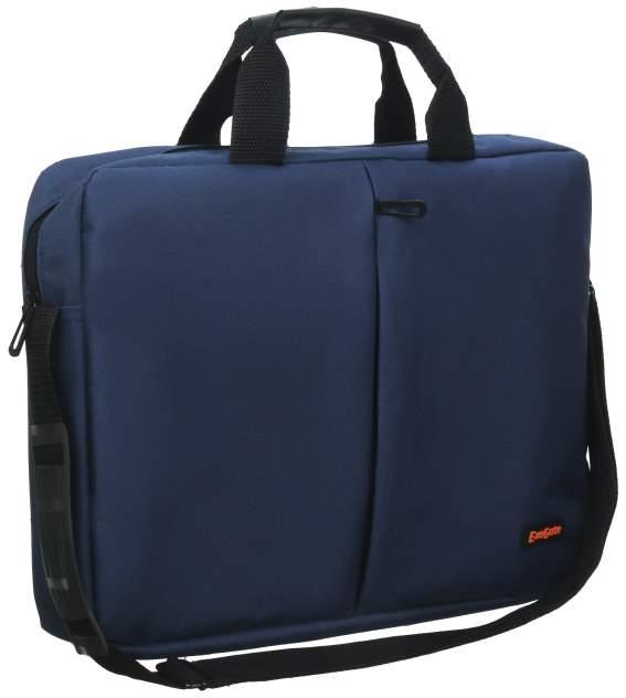 """Сумка для ноутбука 15.6"""" ExeGate Office F1590 синяя"""
