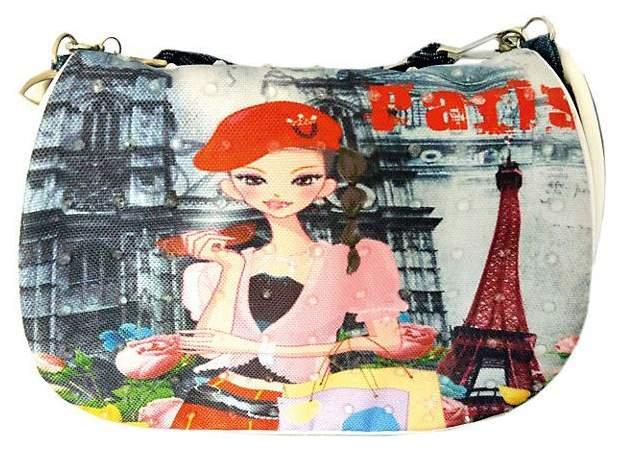 Сумка детская Наша игрушка Весна в Париже 16*13 см 635844