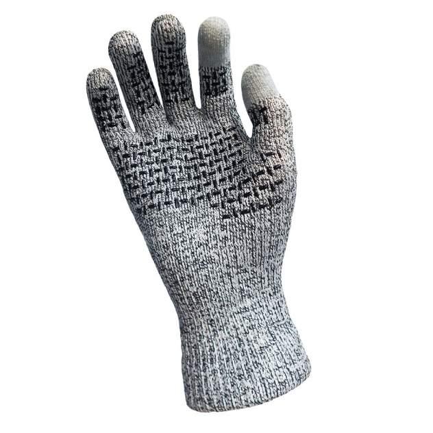 Перчатки мужские DexShell TechShield, серые, M INT