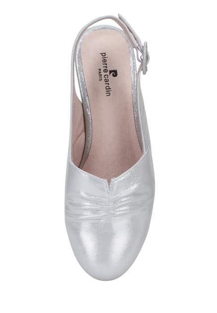 Туфли женские Pierre Cardin 710017675 серебристые 36 RU