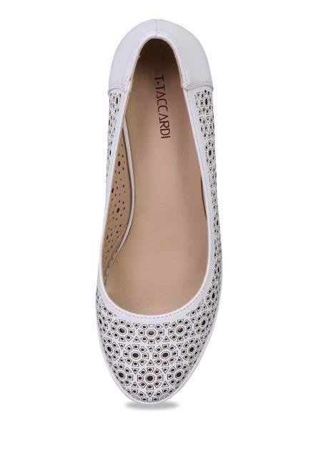 Туфли женские T.Taccardi 710017761 белые 36 RU