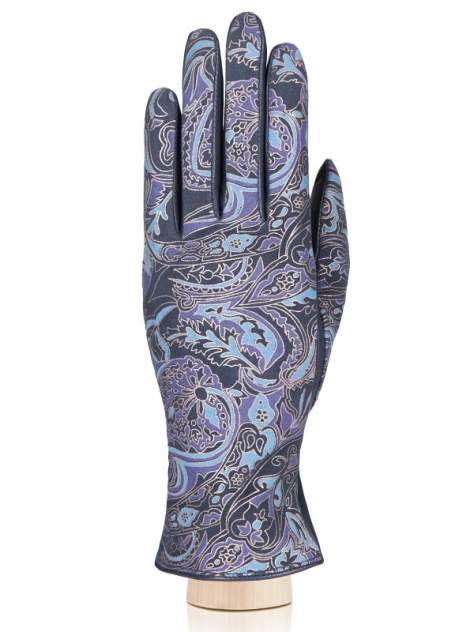 Перчатки женские Eleganzza IS00151 синие 7.5