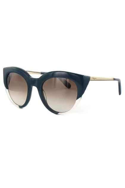 Солнцезащитные очки женские Salvatore Ferragamo 855S-429 синие
