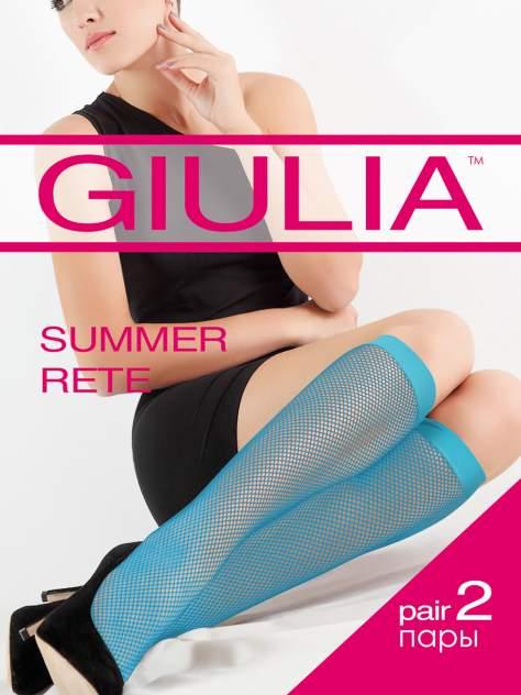 Гольфы женские Giulia голубые UNI
