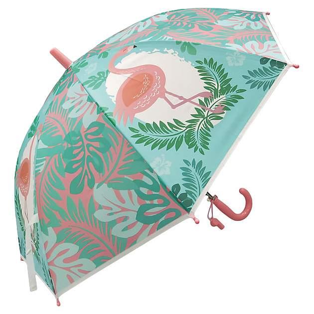 Зонт детский Фламинго,   48см, свисток, полуавтомат