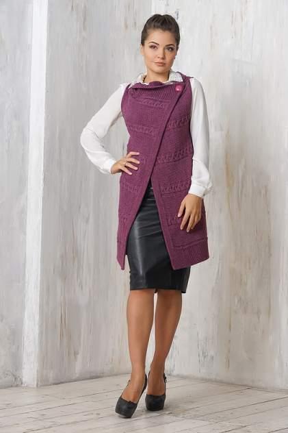 Жилет женский VAY 1374 фиолетовый 54 RU