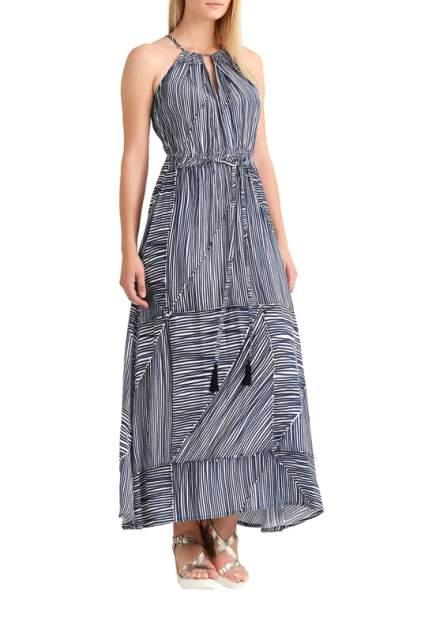 Платье женское Apart 48399 синее 46 DE