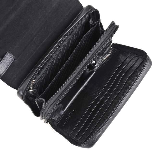 Клатч мужской кожаный Dr. Koffer B402154-01-04 черный