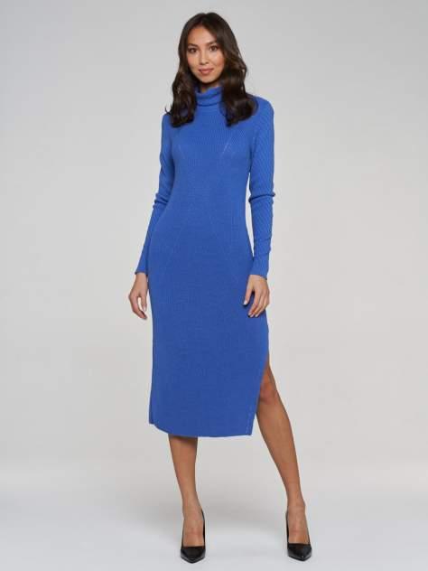 Платье женское VAY 192-2419 синее 54 RU