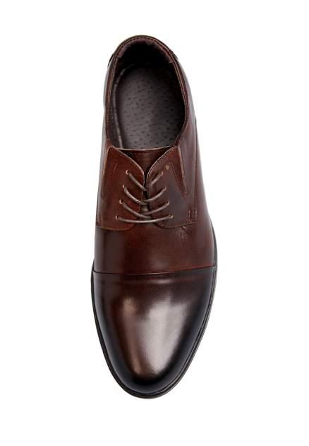Туфли мужские Alessio Nesca 25806630 коричневые 44 RU