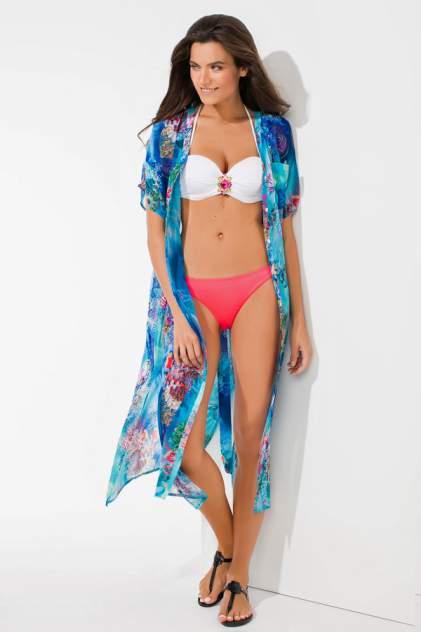 Пляжная туника женская Laete 60264-2 красная 3XL