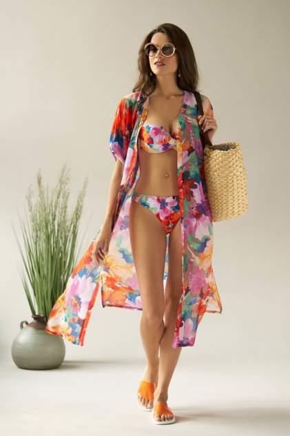 Пляжная туника женская Laete 60431 разноцветная M