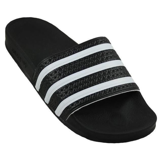 Шлепанцы мужские Adidas Adilette белые 9 US