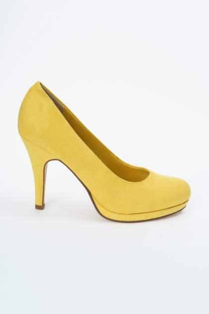 Туфли женские Tamaris 1-1-22407-22 желтые 38 RU
