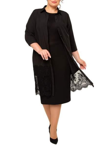 Платье женское KR 4281 черное 58 RU