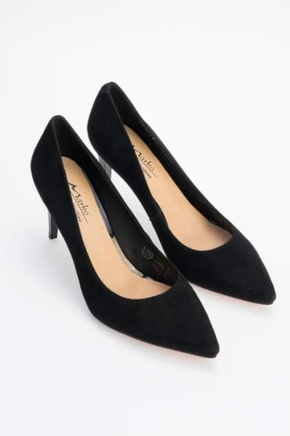 Туфли женские Marko 131526 черные 35 RU