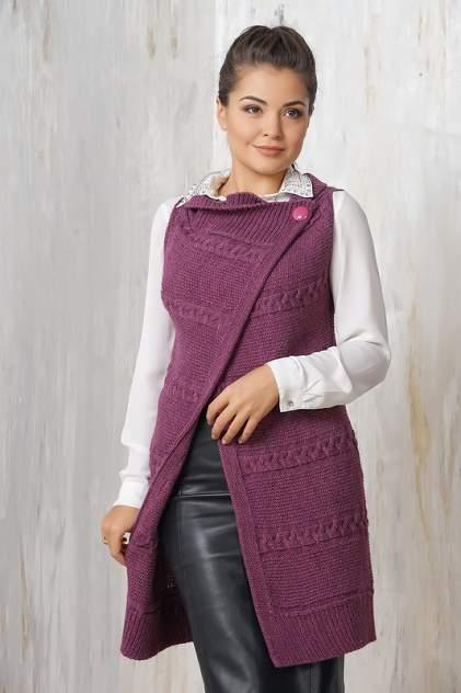 Жилет женский VAY 1374 фиолетовый 58 RU