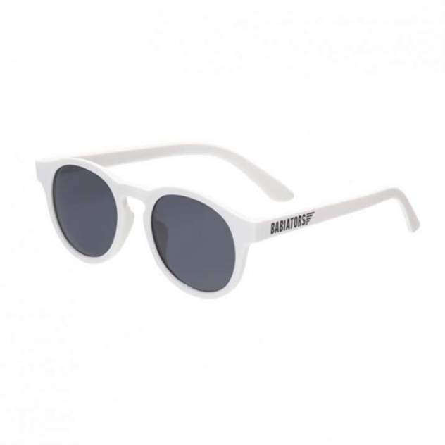 Солнцезащитные очки Babiators Original Keyhole Wicked White Дымчатые 3-5 лет