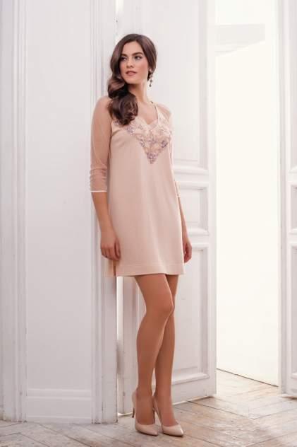 Домашнее платье женское Laete 30195-1 бежевое L