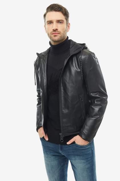 Мужская кожаная куртка Armani Exchange 6GZBG1 ZNHWZ 1200, черный