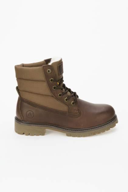 Ботинки женские Affex 108-PMR, коричневый