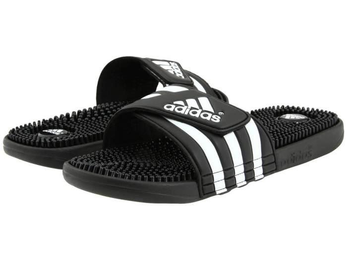 Шлепанцы мужские Adidas Adissage Slides белые 8 US