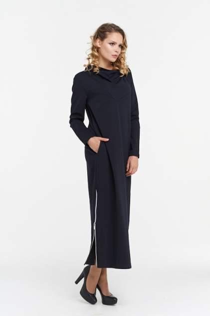 Платье женское VAY 182-3459 синее 46 RU