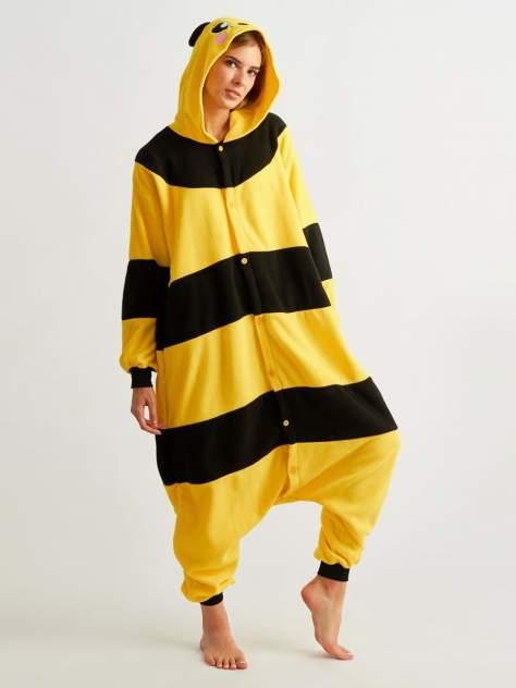 Кигуруми BearWear Пчела, черный, желтый