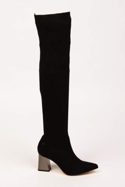 Ботфорты женские Tamaris 1-1-25531-21 черные 36 RU