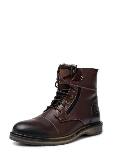 Ботинки мужские Alessio Nesca 26107610 коричневые 41 RU