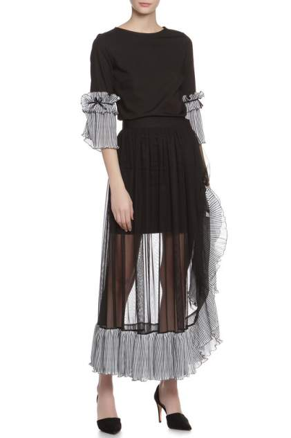 Платье женское Adzhedo 41412 черное 3XL
